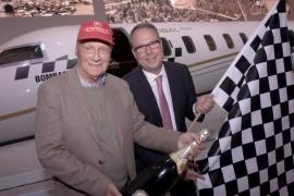 Niki Lauda új Global 7000-es business jetet vásárolt magának