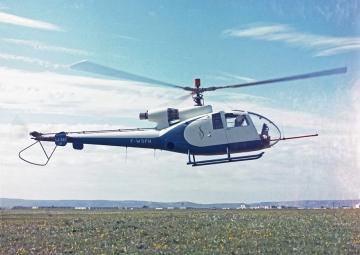 50 éve repül a Gazelle helikopter