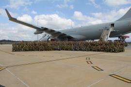 A RAAF egyik szállítógépe rekordott döntött