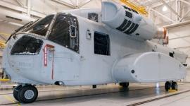 Tesztpadon az új Sikorsky CH-53K nehézhelikopter