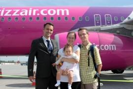 Hétmilliomodik utasát ünnepli a Wizz Air
