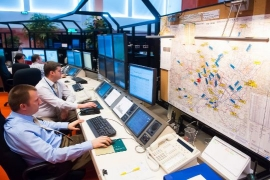 Felavatták Európa egyik legkorszerűbb légiforgalmi irányító központját