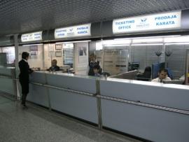 A szarajevói reptér is megérezte a Malév csődjét