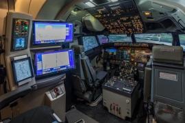 Átadták az első Level C kategóriájú B 737 MAX szimulátort