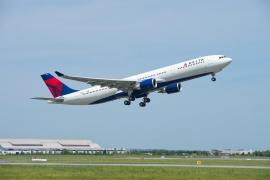 Átvette a Delta Air Lines az első megnövelt felszállósúlyú A330-ast