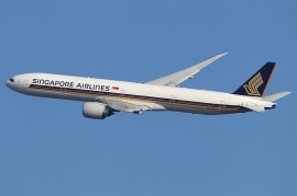 Legurult a pályáról Münchenben a SIA B 777-ese
