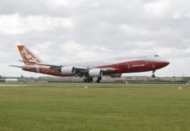 Megkapta az amerikai légialkalmassági bizonyítványát az új B 747-8I