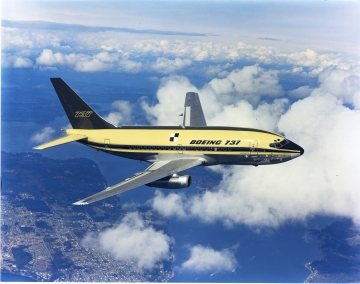 Ötven éve szállt fel az első B 737-es