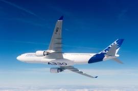 Túl 1500 megrendelésen az Airbus A330-as típusa