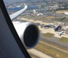 Repültünk az Airbus új A350-es tesztgépével