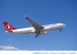 Négy A330-200F kargógépet rendelt a Turkish Airlines