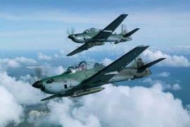Afrikában is sikeres a brazil A–29-es Super Tucano könnyű harci gép