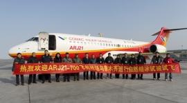 Jeges teszten a kínai COMAC ARJ–21-700-as