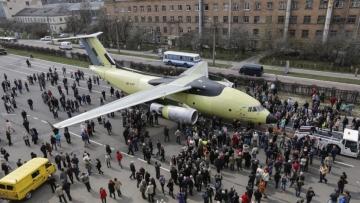 Elkészült az Antonov új szállítógépe, az An–178-as
