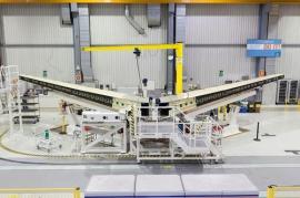 Készül az A350XWB vízszintes stabilizátora