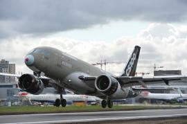 London City-New York nonstop légijárat CS100-assal