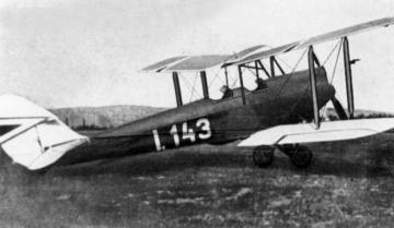 """Elfelejtett repülőgépeink - De Havilland DH–60 """"Moth"""""""