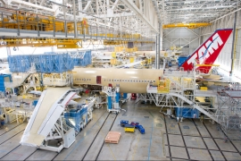 Készül az első A350-900-as Toulouse-ban
