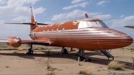 Elárverezik Elvis egykori magángépét, egy Lockheed Jetstart