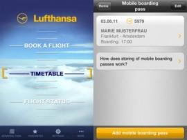 A Lufthansa is beszáll a Passbookba