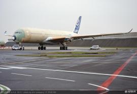 Újabb állomásához érkezett az első repülőképes A350XWB összeszerelése