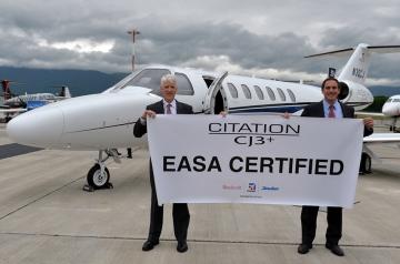 Megkapta az EASA típusjogosítást az új Cessna Citation CJ3+