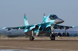 Újabb Szu–34-es frontbombázókat kapott az orosz légierő