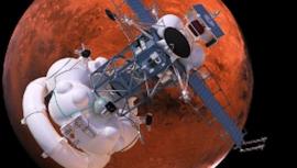 A Roszkoszmosz a Phobos-Grunt bolygóközi űrállomásról