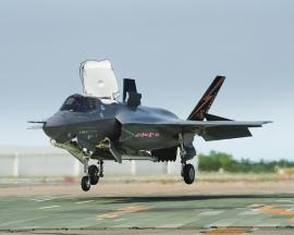 Leszállította a Rolls-Royce az első F-35 Lightning II-es LiftFan-t