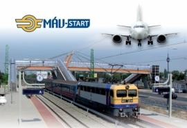 Továbbra is érdemes vonattal utazni a repülőtérre