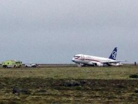 Izlandon hason ért földet egy orosz SSJ-100-as