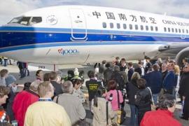 Átadta a Boeing a 4000. elkészült B 737NG repülőgépét