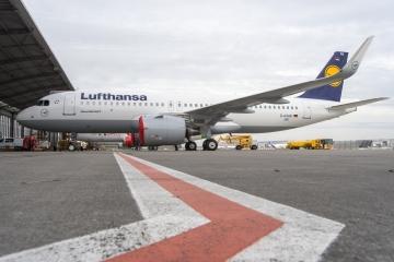 Átadta az Airbus a második A320neo-t a Lufthansának