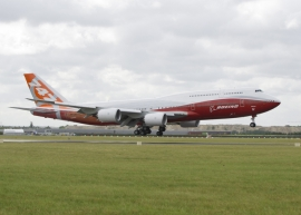 A B 747-8I megkapta az FAA 330 perces ETOPS-ját