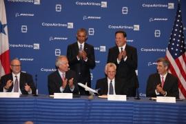 Történelmi jelentőségű Boeing megrendelés a Copa Airlinestól