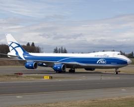 Az AirBridgeCargo második B 747-8F-je