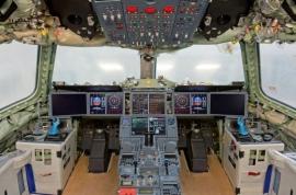 Életre kelt az első A350 XWB pilótafülkéje