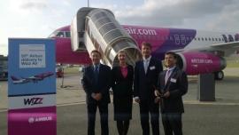 A Wizz Air átvette az 50. repülőgépét