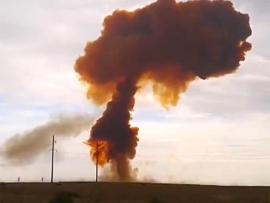 Proton óriásrakéta balesete Bajkonúron