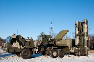 Orosz légtérvédelmi hadgyakorlat