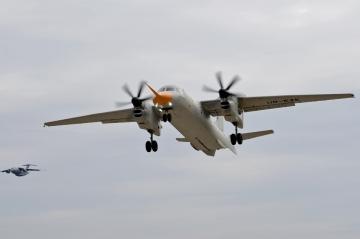 Végrehajtotta az Antonov új An–132D turbopropja is a szűzfelszállását