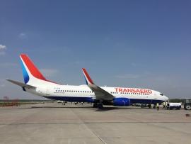 """Átadta a Boeing az első gyárilag beépített """"dómos"""" B 737-est"""