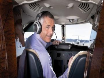 Fejhallgatók pilótaszemmel