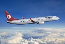 Átvette a Turkish Airlines a 125. Boeing típusú repülőgépét