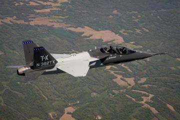 Levegőben a második Saab-Boeing T–X tréner