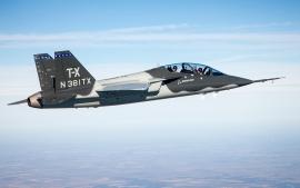 Repülj az új Saab-Boeing T–X trénerrel
