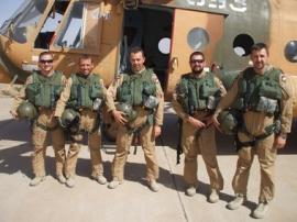 Eredményes munkát végeznek a magyar légi tanácsadó csoport tagjai