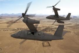 Bemutatta a Bell a V–280-as Valon tiltrotoros katonai szállítóhelikopter mock up-ját